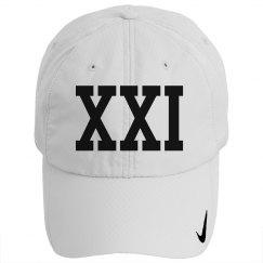 Custom 21 Roman Numeral Hat