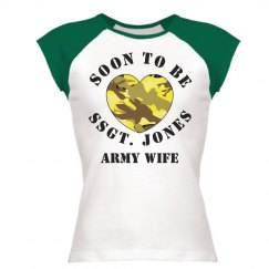 Military Army Wife Heart