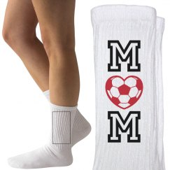 Cute Soccer Mom Socks