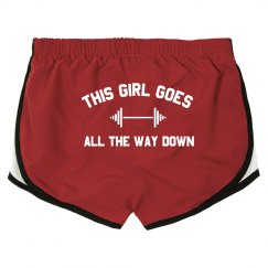 All The Way Down Squat Gym Short