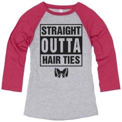 Straight Outta Hair Ties