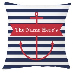 Custom Family Name Nautical Decor