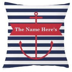 Custom Family Name Nautical Decor