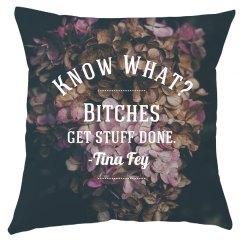 Custom Printed Feminist Quote