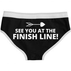 Cupid Run Finish Line