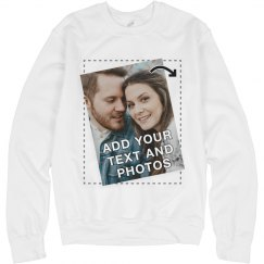 Customize a Sweatshirt with a Full Color Photo