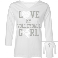 Love My volleyball Girl