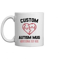 Custom Autism Mug