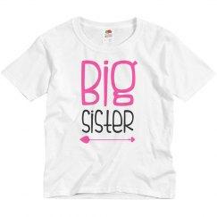 Big Sister T-shirt Arrow