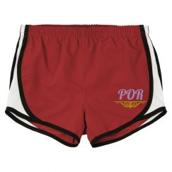 LADIES PLENTY OF RHYTHM SHORTS