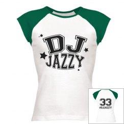DJ JAZZY Rib Raglan Tee