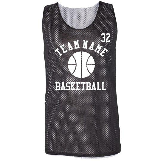 24831fb46b22 3 on 3 Basketball Jersey Sport Mesh Reversible Tank Top