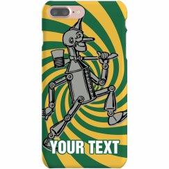 Custom Text Tin Man Case