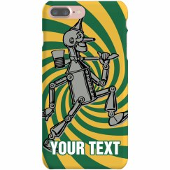 Custom Text Tin Man Case