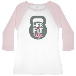 Her Fit Life KettleBell Softball-T