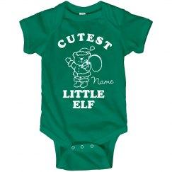 Cutest Elf Xmas Onesie