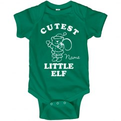 Cutest Elf Xmas Bodysuit