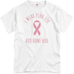 Customize Your Own Breast Cancer Tee