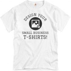 Custom Small Business Upload Logo