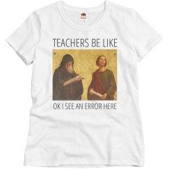 Teacher Appreciation Tee