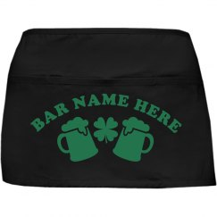 Irish Bar Server Apron St Pattys