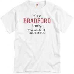 Its a Bradford thing