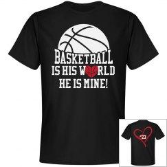 Basketball is his world
