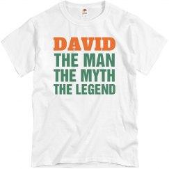 David the man