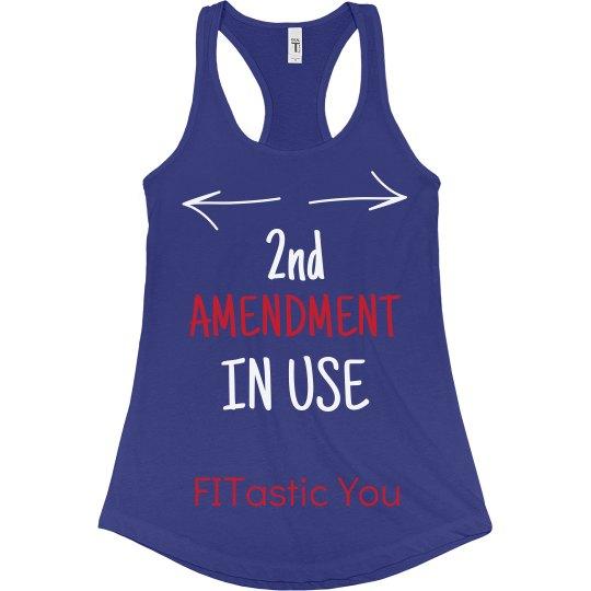 2nd Amendment In Use Blue