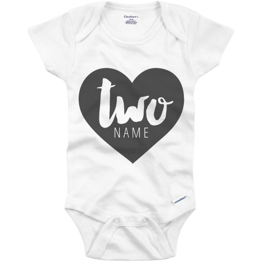 2nd Birthday Custom Onesie