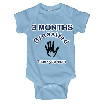 3 Months Breastfed
