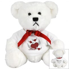 Love Hearts Brown Teddy