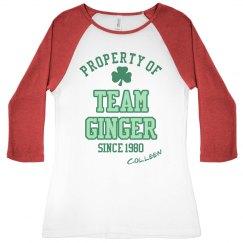 Team Ginger Irish Girl
