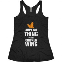 Ain't No Thing But A Chicken Wing Volleyball Shirt