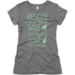 Rescue, Save, Love