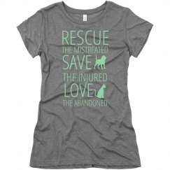 Rescue, Save, Love