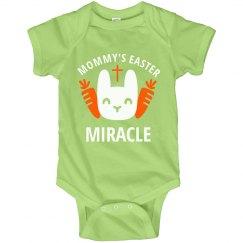 Easter Miracle Cute Baby Bodysuit