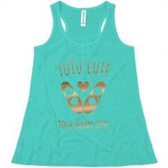 TuTu Cute Custom Dance Tank