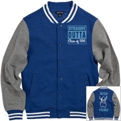 High School/College: Letterman Logo Jacket