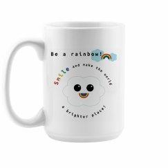 Be a Rainbow Mug