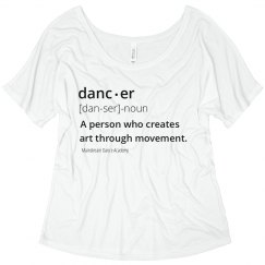 Dancer Definition Tee