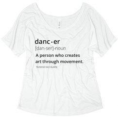 Dancer Definition Tee