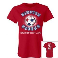 Kinston Soccer w/ Back