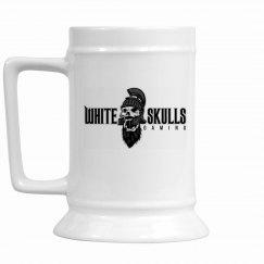 White Skulls Gaming Stein