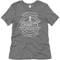 Create Custom Charity Shirts