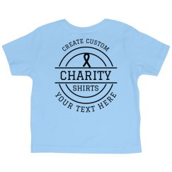 Customize Your Group Charity Tees