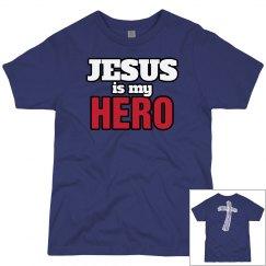 Jesus is my hero!