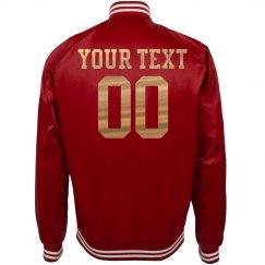 Custom Name/Number Cute Jersey