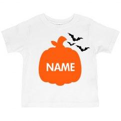 Kids Custom Pumpkin Halloween