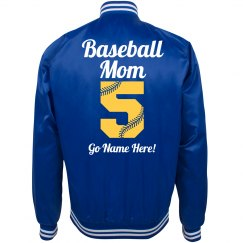 Cute Baseball Mom Bomber
